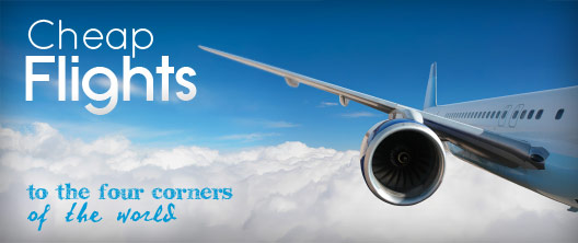 Low cost flights to the four corners of the world.