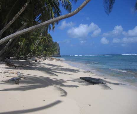 Touristic attractions of Dominican Republic : Playa Fronton
