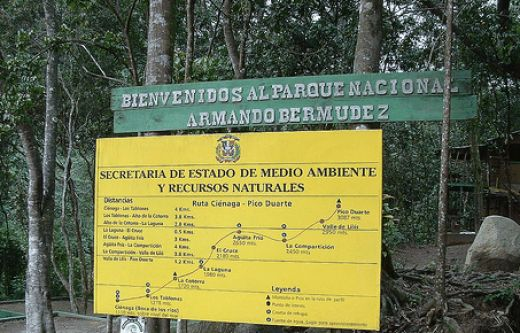Touristic attractions of Dominican Republic : Armando Bermudez National Park