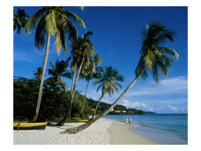 Touristic attractions of Grenada : Grand Anse Bay
