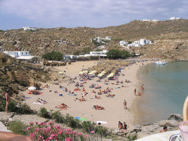 Touristic attractions of Greece : Mykonos Island
