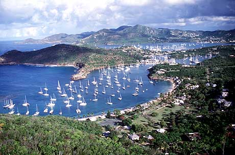 Attraits touristiques à Antigua et Barbuda : English Harbor