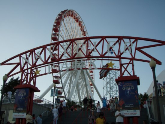 Touristic attractions of United States : Navy Pier