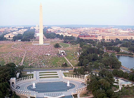 Touristic attractions of United States : National Mall and Memorial Parks