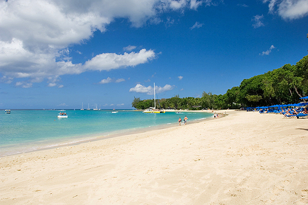 Attraits touristiques en Barbade : Sandy Lane Beach