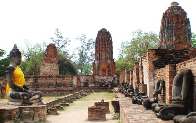 Touristic attractions of Thailand : Chao Sam Phraya National Museum, Ayutthaya