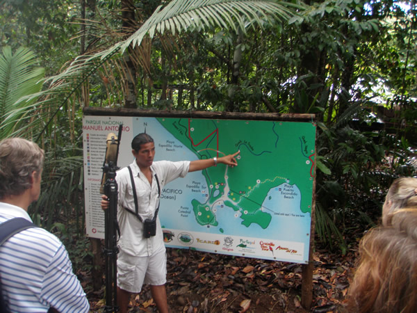 Attraits touristiques au Costa Rica : Manuel Antonio National Park